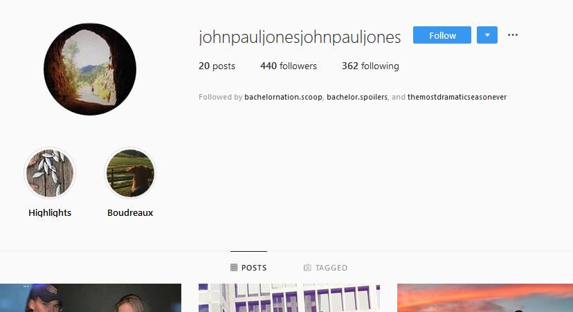 Bachelorette 15 - John Paul Jones - *Sleuthing Spoilers* John_p10
