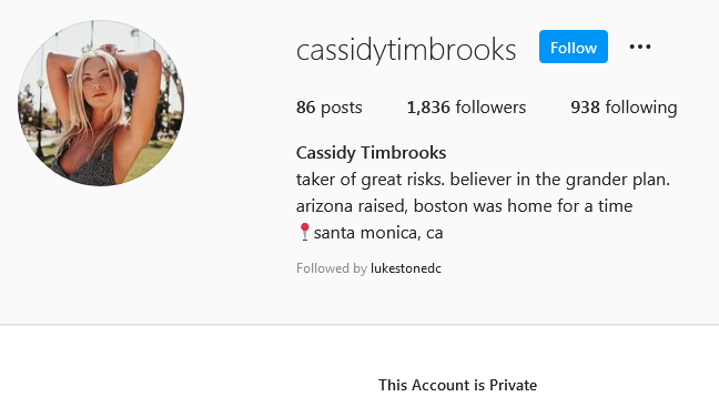 Cassidy Timbrooks - Bachelor 26 - Discussion - **Sleuthing Spoilers** - Page 2 Screen42