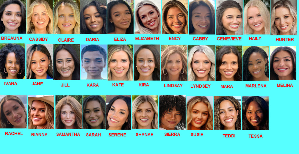 Bachelor 26 - Clayton Echard - Filming Schedule - *Sleuthing Spoilers*  Women_10