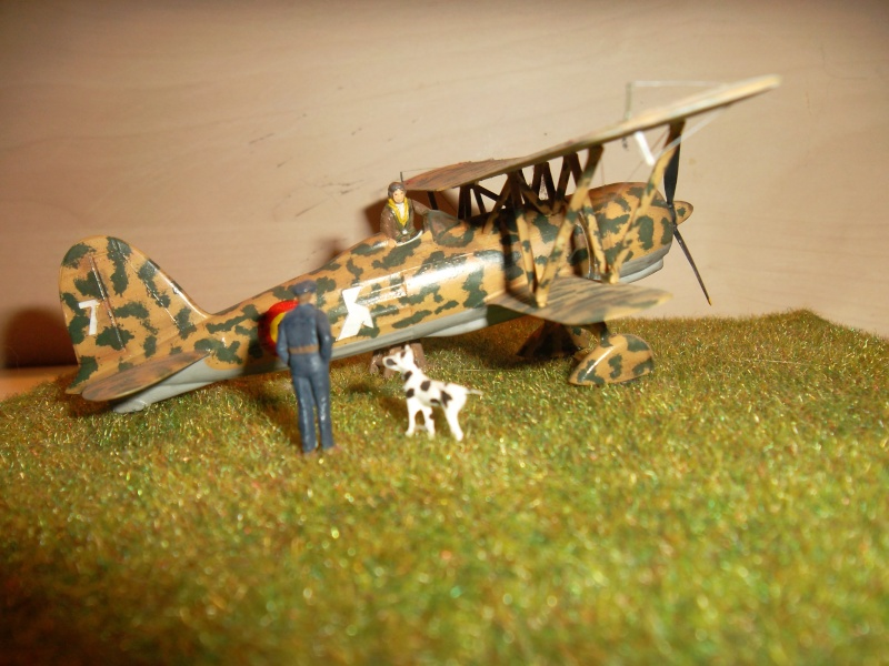 Matchbox - Fiat CR42 / Airfix - Fairey Battle Sam_6713