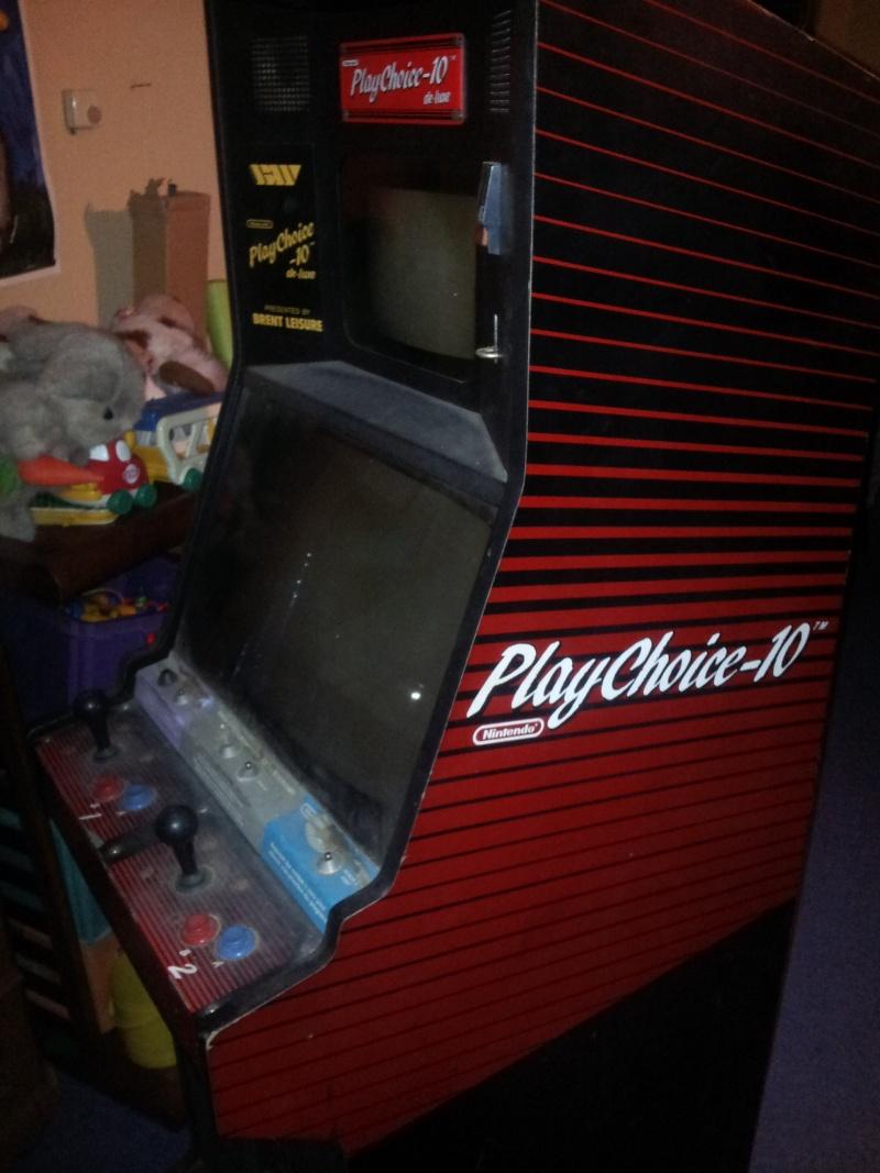 Borne playchoice 10 en réparation 20121215