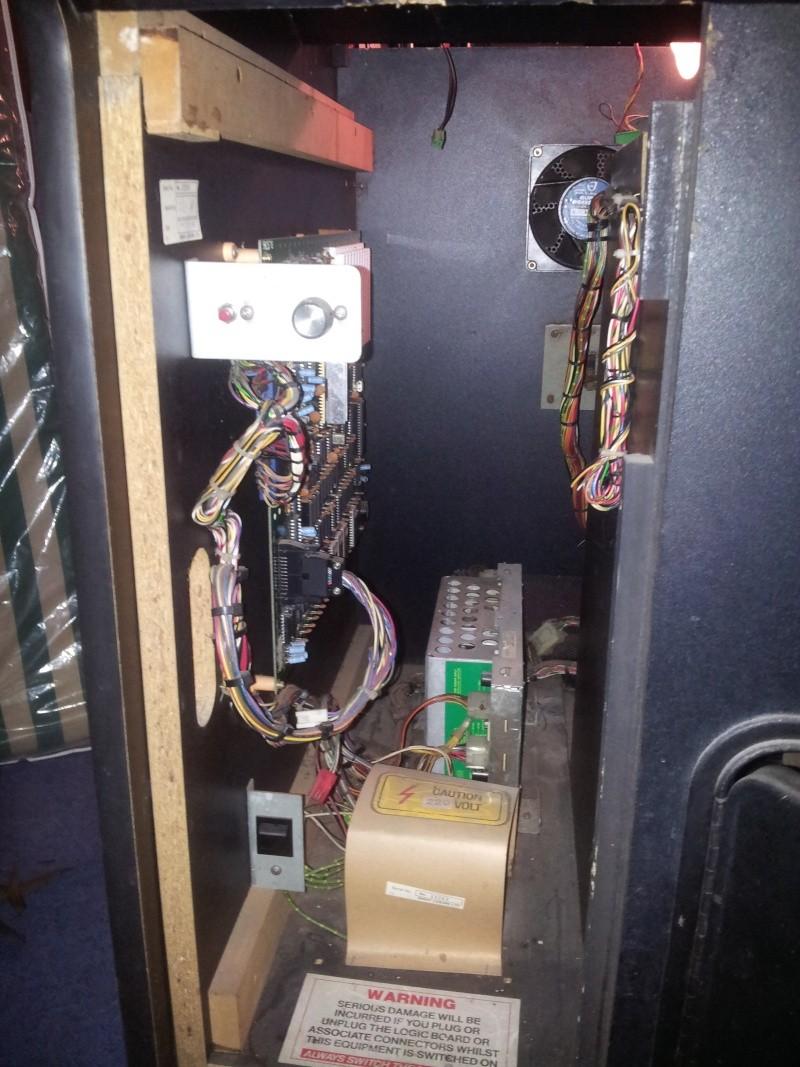 Borne playchoice 10 en réparation 20121219