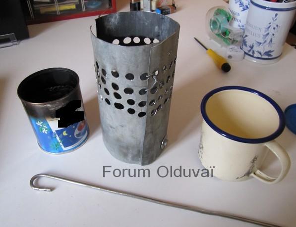 Fabrication d'un réchaud multicombustible et d'une housse isotherme pour gourde Nalgene Img_6411