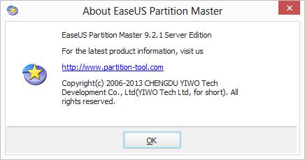 Phân vùng ổ đĩa EaseUS Partition Master Easeus12