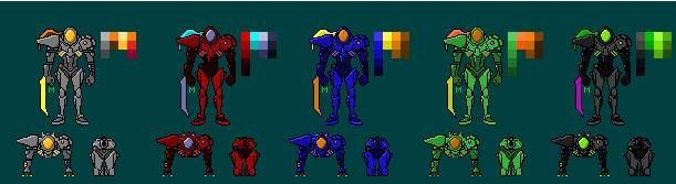 Hunters possibles de Metroid Prime Weavel10