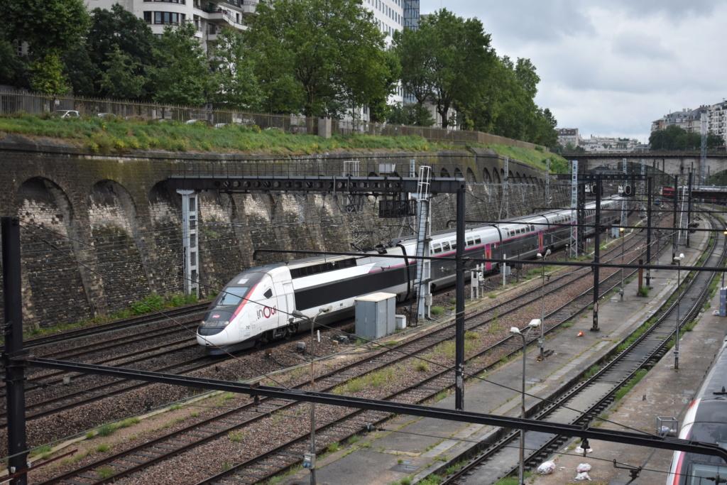Le technicentre S.E Européen vu de la passerelle Valmy. Juille55