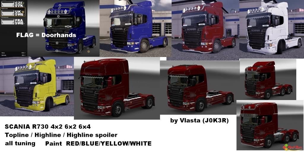 Scania R730 13537410