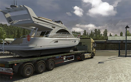 Veneen kuljetus kärry Yacht10