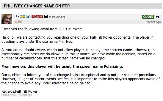 Phil Ivey revient sur Full Tilt Poker Fv210