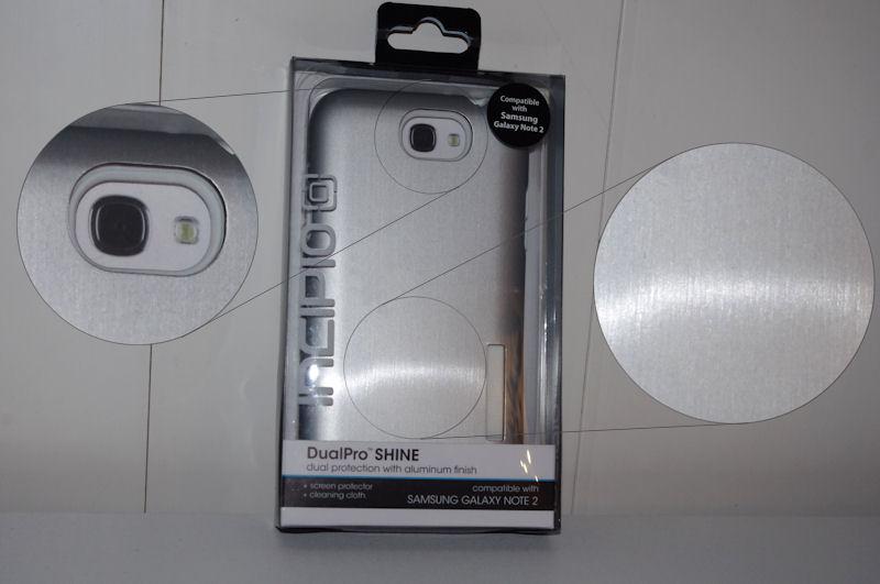 [ORDICA-STORE] Test Coque Incipio « Dual Pro Shine » Double Couche Blanc / Gris pour Samsung Galaxy Note 2 Coque010