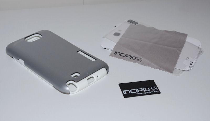 [ORDICA-STORE] Test Coque Incipio « Dual Pro Shine » Double Couche Blanc / Gris pour Samsung Galaxy Note 2 Coque011