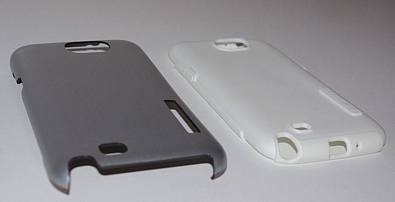 [ORDICA-STORE] Test Coque Incipio « Dual Pro Shine » Double Couche Blanc / Gris pour Samsung Galaxy Note 2 Coque013