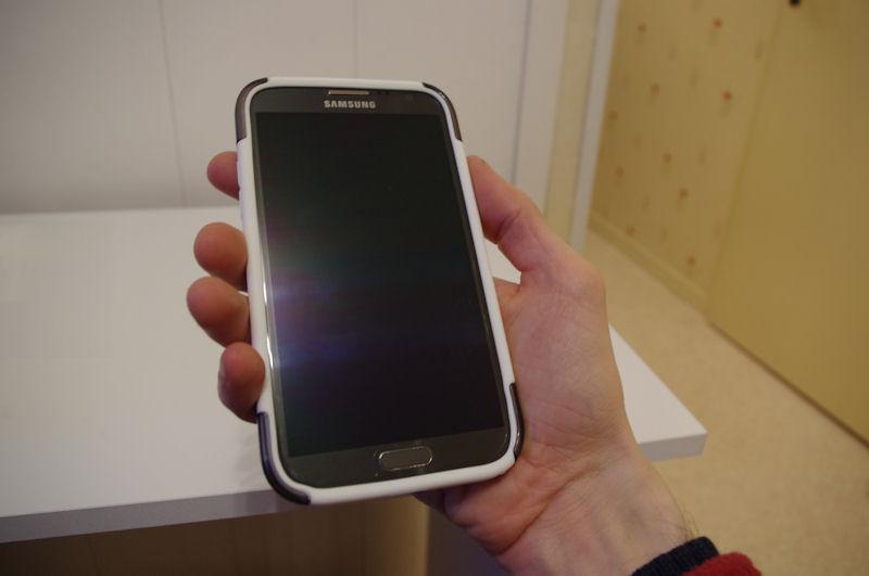 [ORDICA-STORE] Test Coque Incipio « Dual Pro Shine » Double Couche Blanc / Gris pour Samsung Galaxy Note 2 Coque111