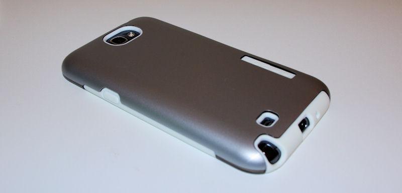 [ORDICA-STORE] Test Coque Incipio « Dual Pro Shine » Double Couche Blanc / Gris pour Samsung Galaxy Note 2 Coque112