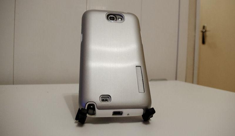 [ORDICA-STORE] Test Coque Incipio « Dual Pro Shine » Double Couche Blanc / Gris pour Samsung Galaxy Note 2 Coque113
