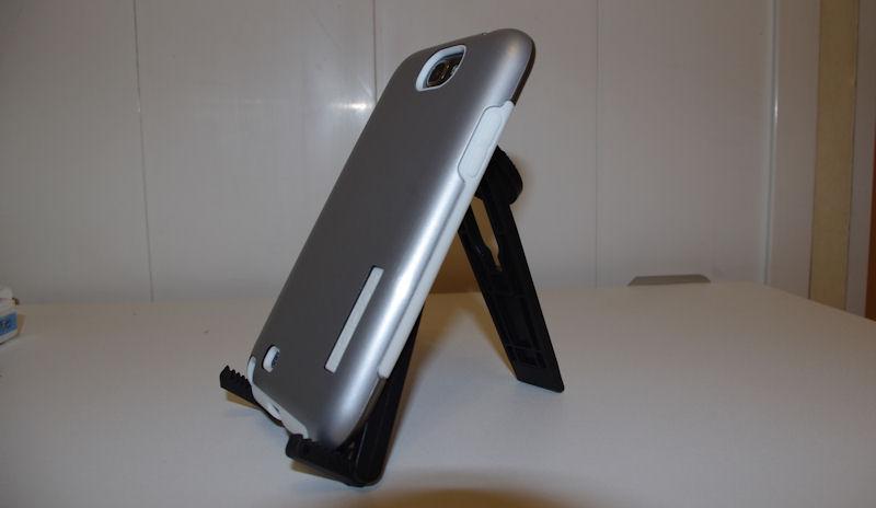 [ORDICA-STORE] Test Coque Incipio « Dual Pro Shine » Double Couche Blanc / Gris pour Samsung Galaxy Note 2 Coque116