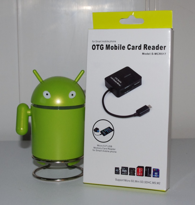 [ACCESSOIRE] Lecteur externe OTG de cartes mémoires Otg0110