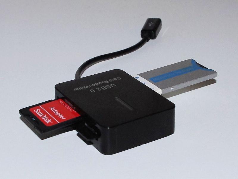 [ACCESSOIRE] Lecteur externe OTG de cartes mémoires Otg0610