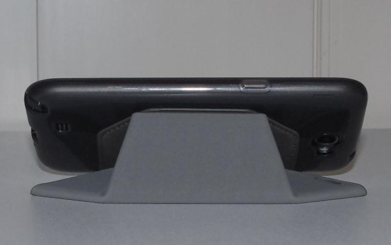 [ACCESSOIRE] Test Etui BENKS avec rabat pliable servant de support pour Samsung Galaxy Note 2  Z0910
