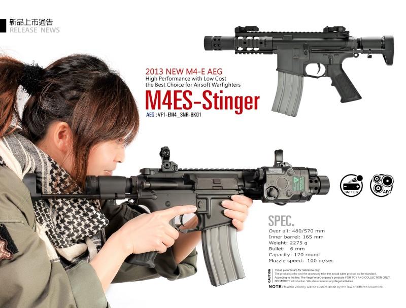 Vega Force Company M4ES-Stinger AEG M4es-s10