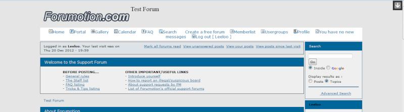 Forumattivo : Nuove opzioni nel PDA !! Toolba13