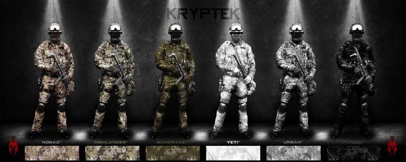 Camouflage Kryptek Krypte10