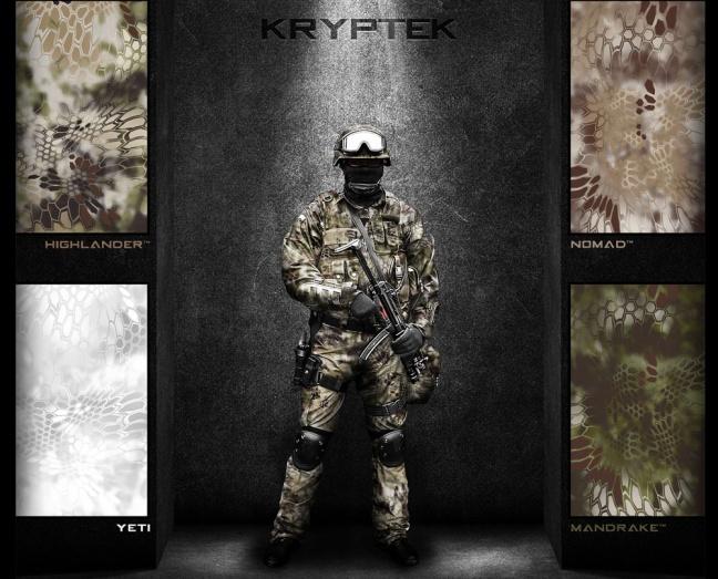 Camouflage Kryptek Krypte11