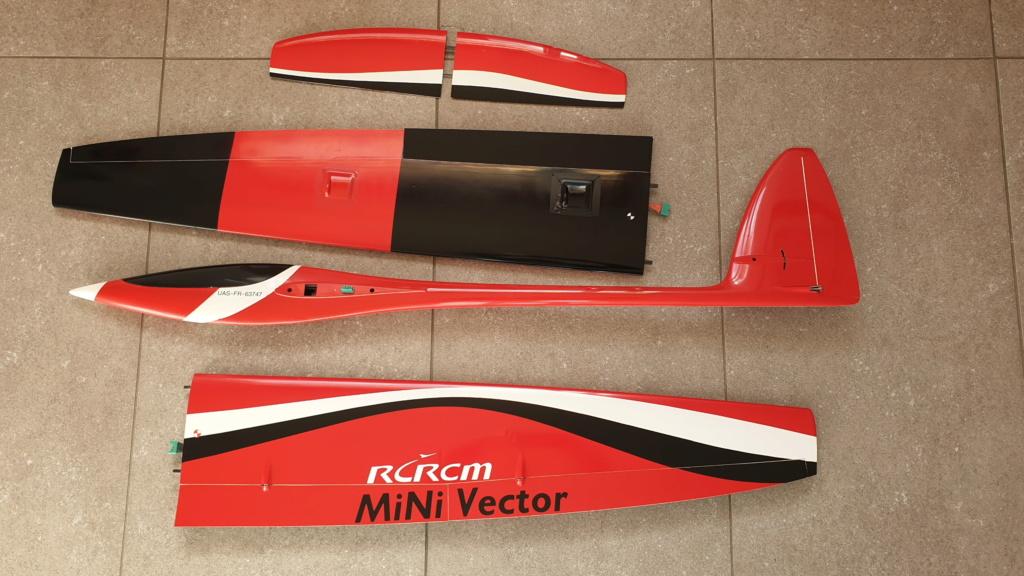 VENDU RCRCM Minivector 1.7m spécialisé Pente, voltige et VPR 20190210