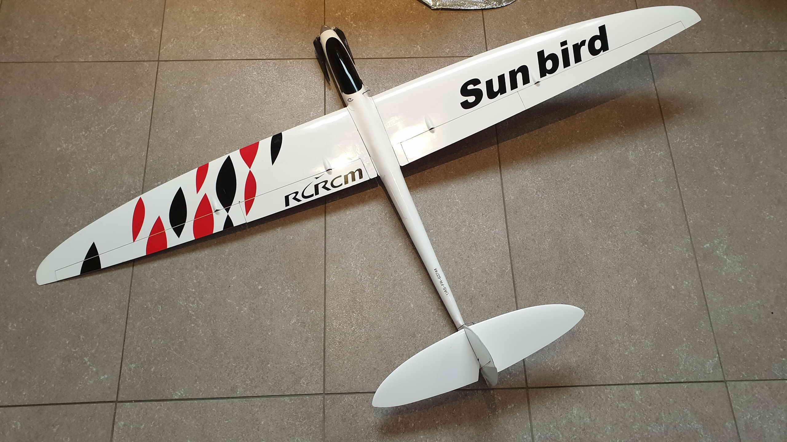 "VENDU - RCRCM Sunbird 60"" version Motorisée 20190227"