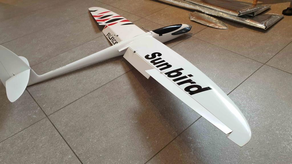 "VENDU - RCRCM Sunbird 60"" version Motorisée 20190231"