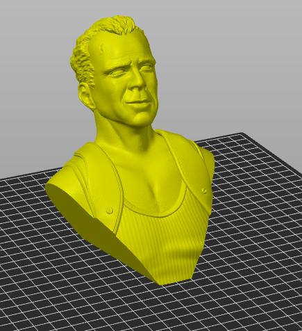 Bruce Willis - John McClane als 120 mm Figur Bildsc15