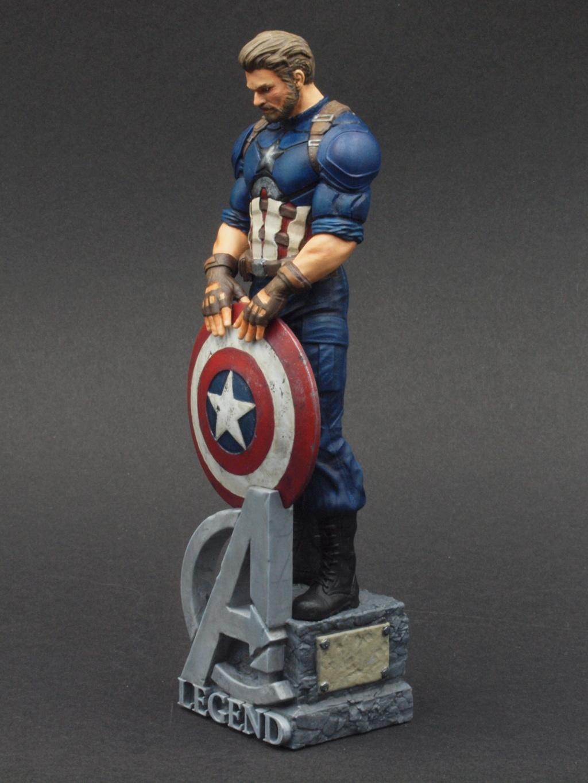 Captain America - 120 mm Figur Ca_110