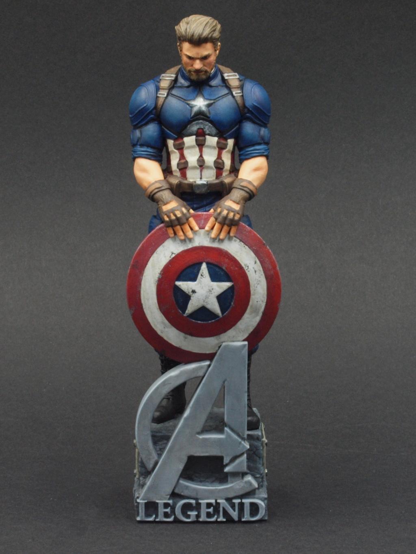 Captain America - 120 mm Figur Ca_210