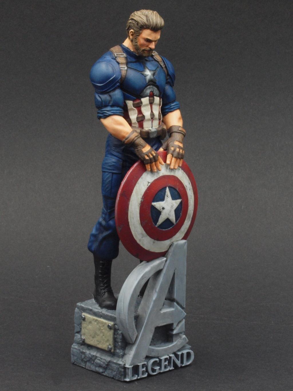 Captain America - 120 mm Figur Ca_310