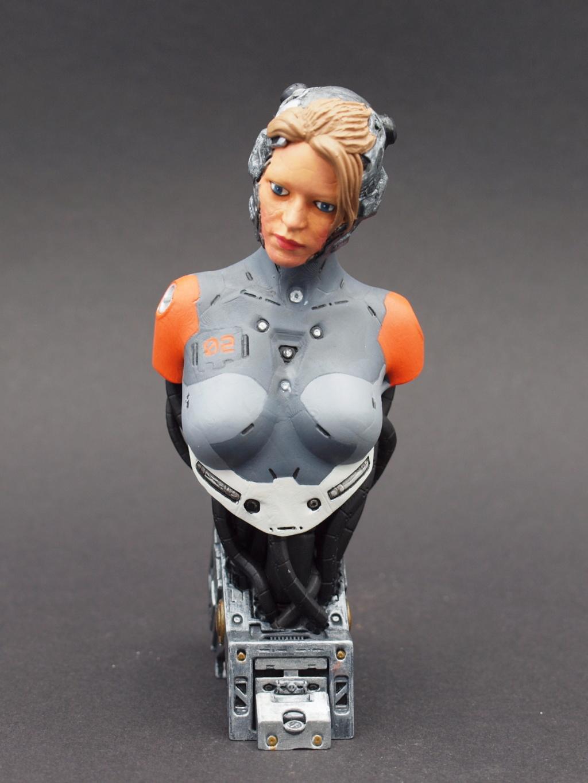 Cyborg - Büste  ca. 1:9 Female10