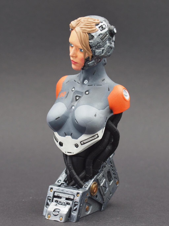 Cyborg - Büste  ca. 1:9 Female12