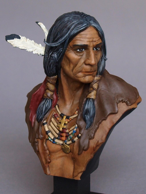 Indianer Büste ca. 1:9 Indian13