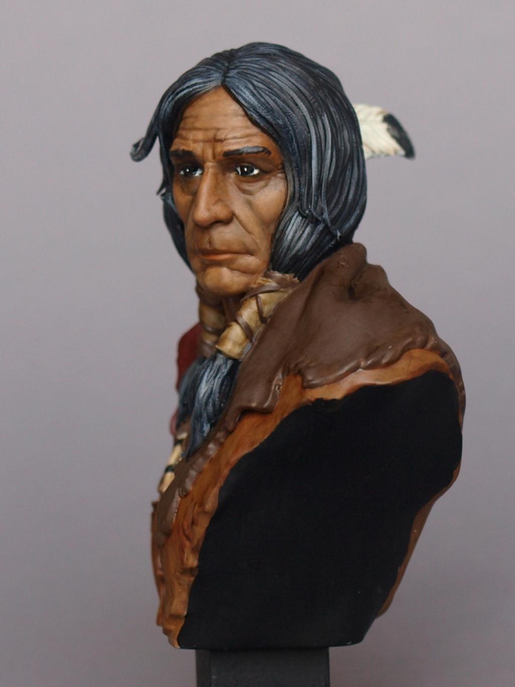Indianer Büste ca. 1:9 Indian14