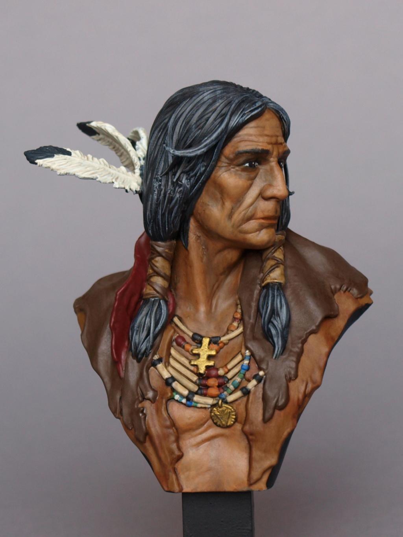 Indianer Büste ca. 1:9 Indian15