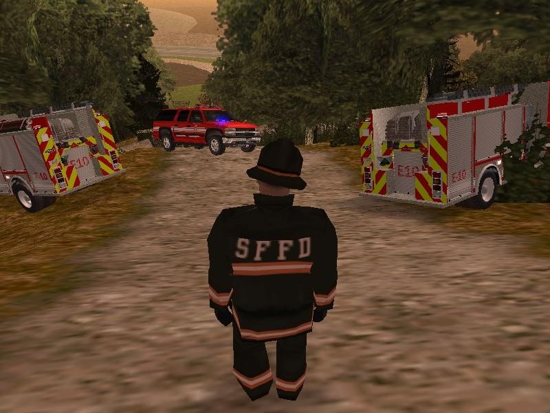 | Los Santos Fire Department | Sa-mp-25