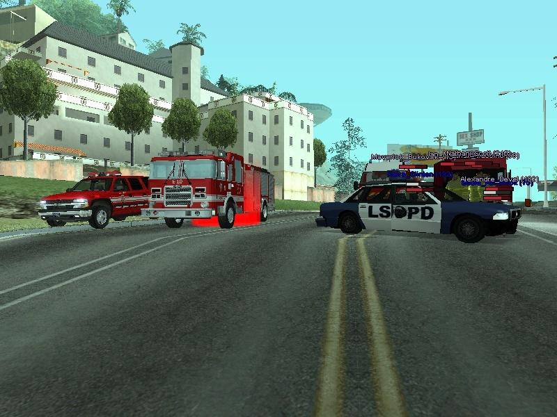 | Los Santos Fire Department | Sa-mp-36