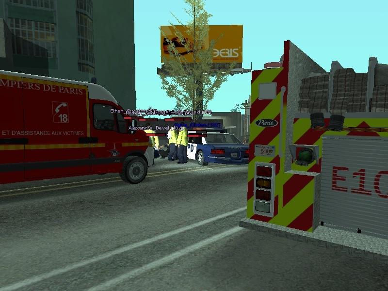 | Los Santos Fire Department | Sa-mp-37