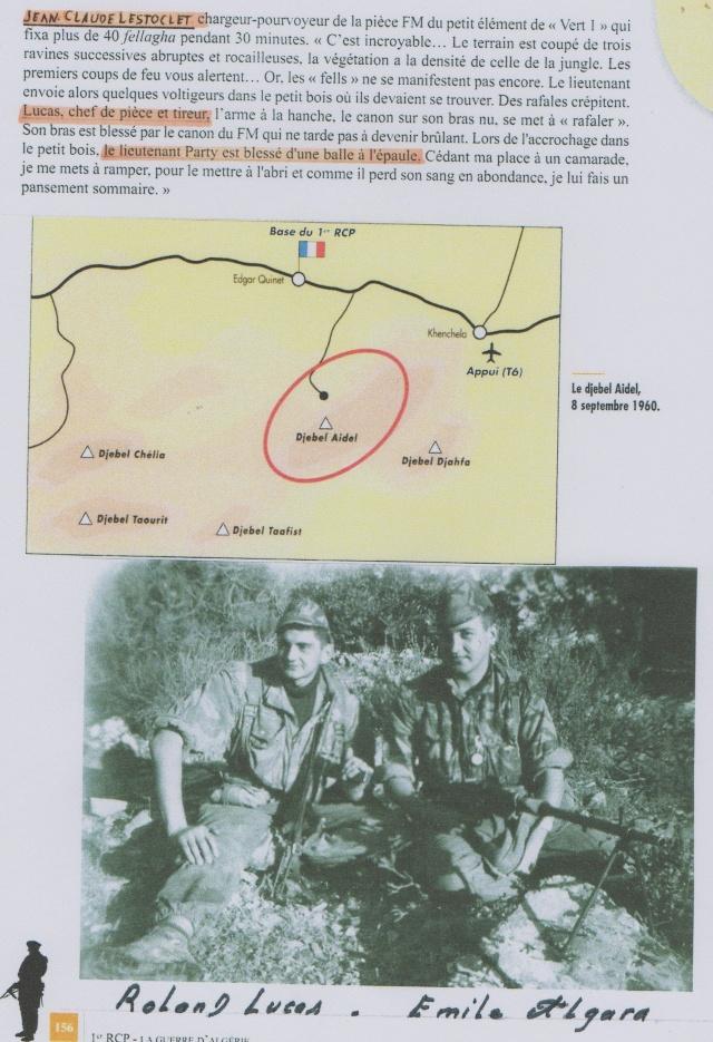 LUCAS Roland 1er RCP en Algérie brevet n°153.867 présentation de roland par serge 02210