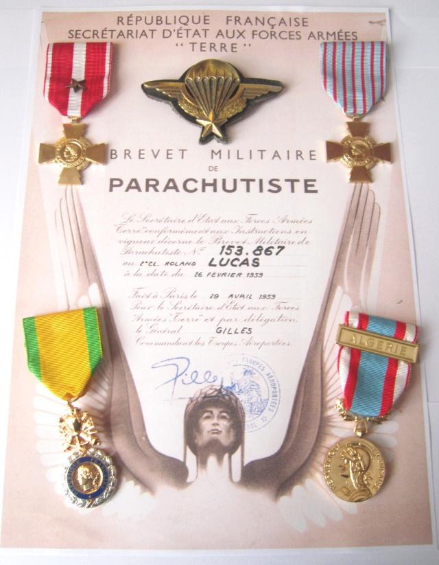 LUCAS Roland 1er RCP en Algérie brevet n°153.867 présentation de roland par serge 04110