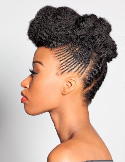 L'afro dans tous ses états : TWA, BAA, libres, tirés, manipulés, afro couette, Shake And Go - Page 3 Tumblr17