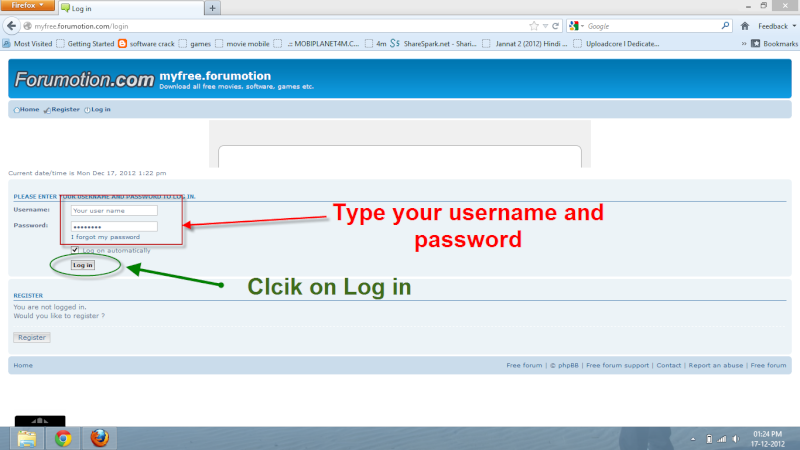 How to Log in? Click_10