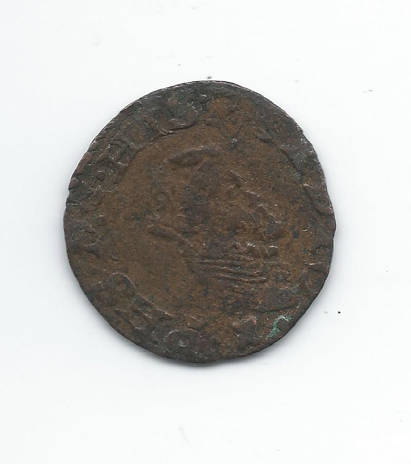 Liard de Philippe II Pays Bas Espagnols, Comté d'Artois Voir2_10