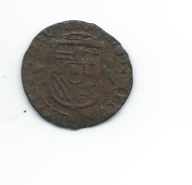 Liard de Philippe II Pays Bas Espagnols, Comté d'Artois Voir_010