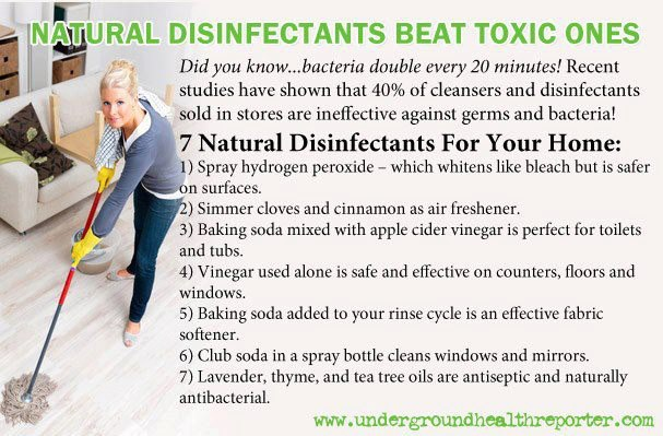 7 NATURAL DISINFECTANTS FOR YOUR HOME 18489110