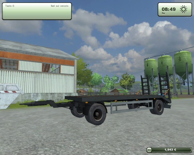 Tiefladerv11 rimorchio trasporto cingolati altro  Fsscre25